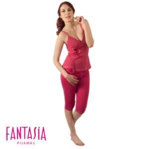 Pijama Pesquero Tiritas Mujer