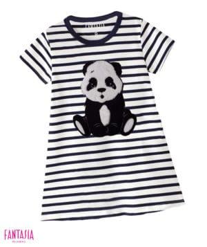 Pijama en Bata Para Niñas o Para Mujer Oso Panda