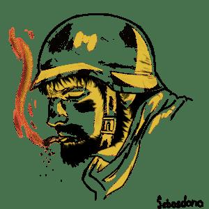 Soldado anónimo.