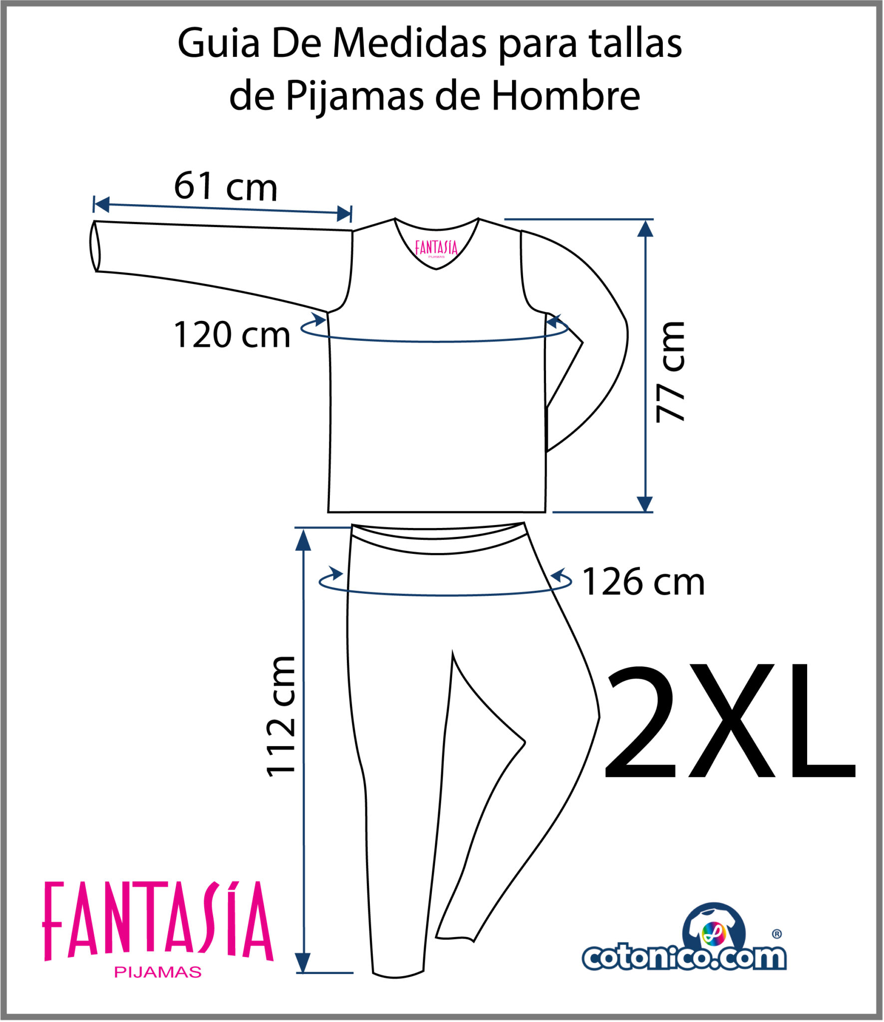 Guia-De-Tallas-Pijamas-De-Hombre-2XL