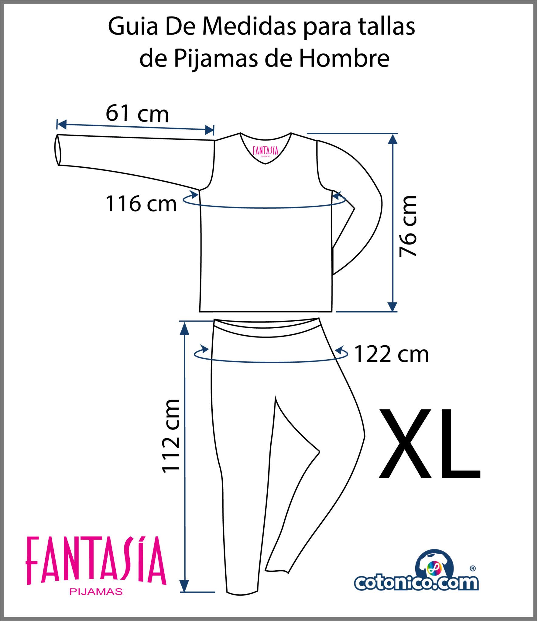 Guia-De-Tallas-Pijamas-De-Hombre-XL