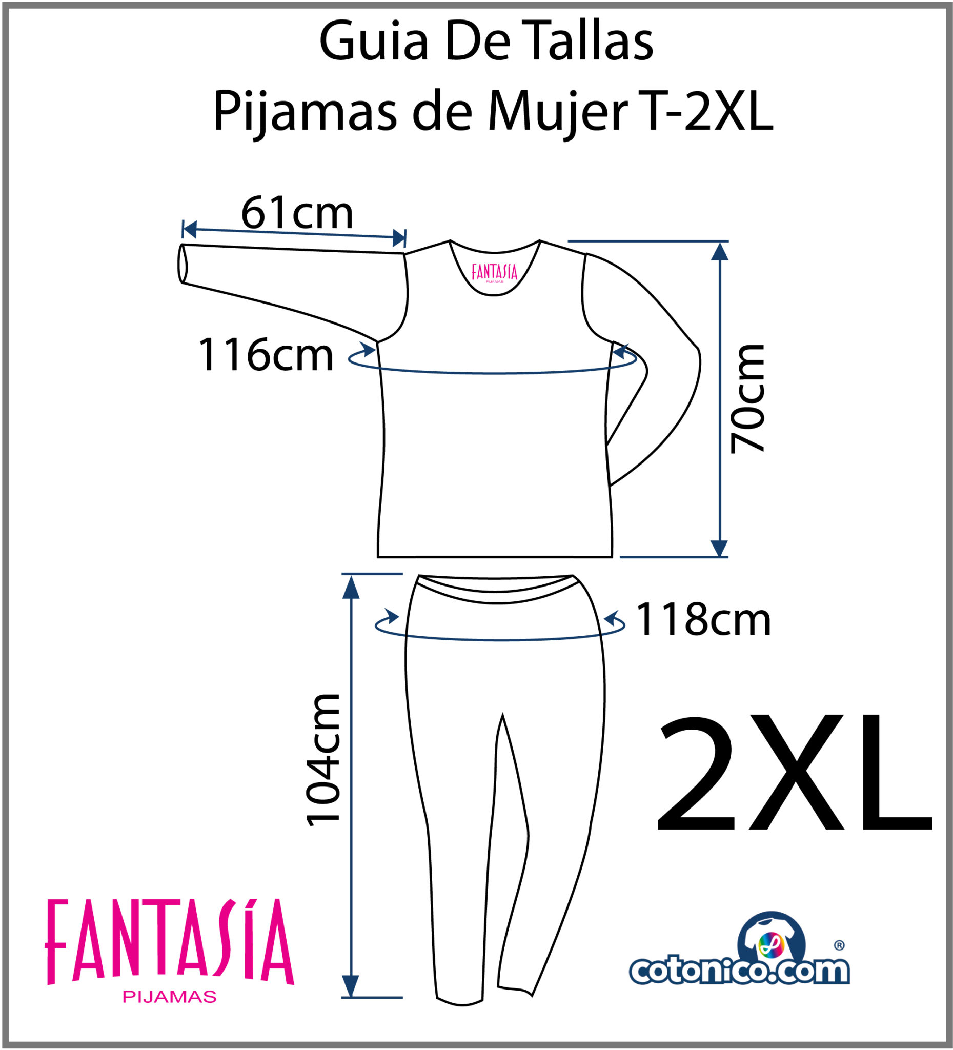 Guia-De-Tallas-Pijamas-De-Mujer-2XL
