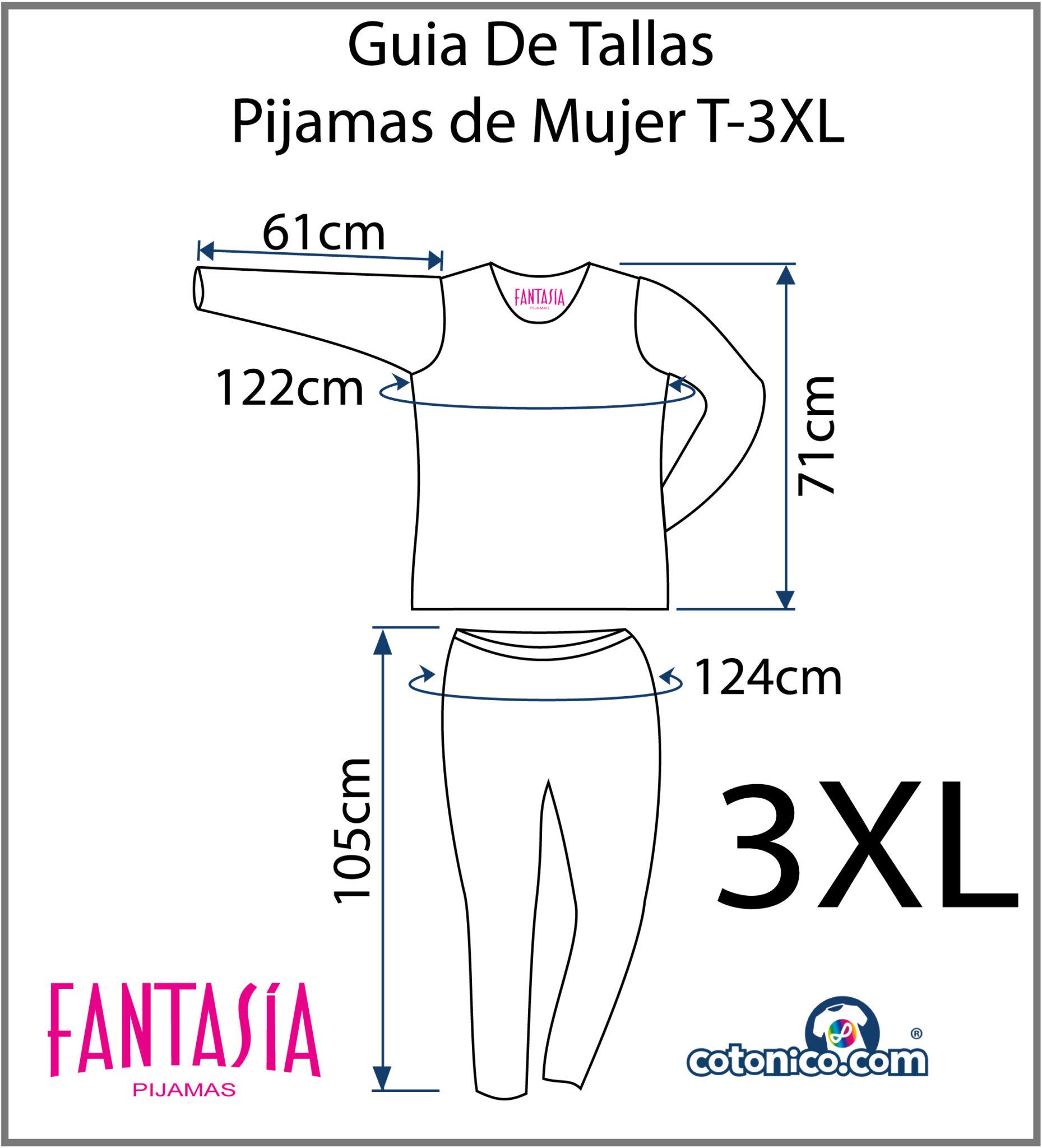Guia-De-Tallas-Pijamas-De-Mujer-3XL