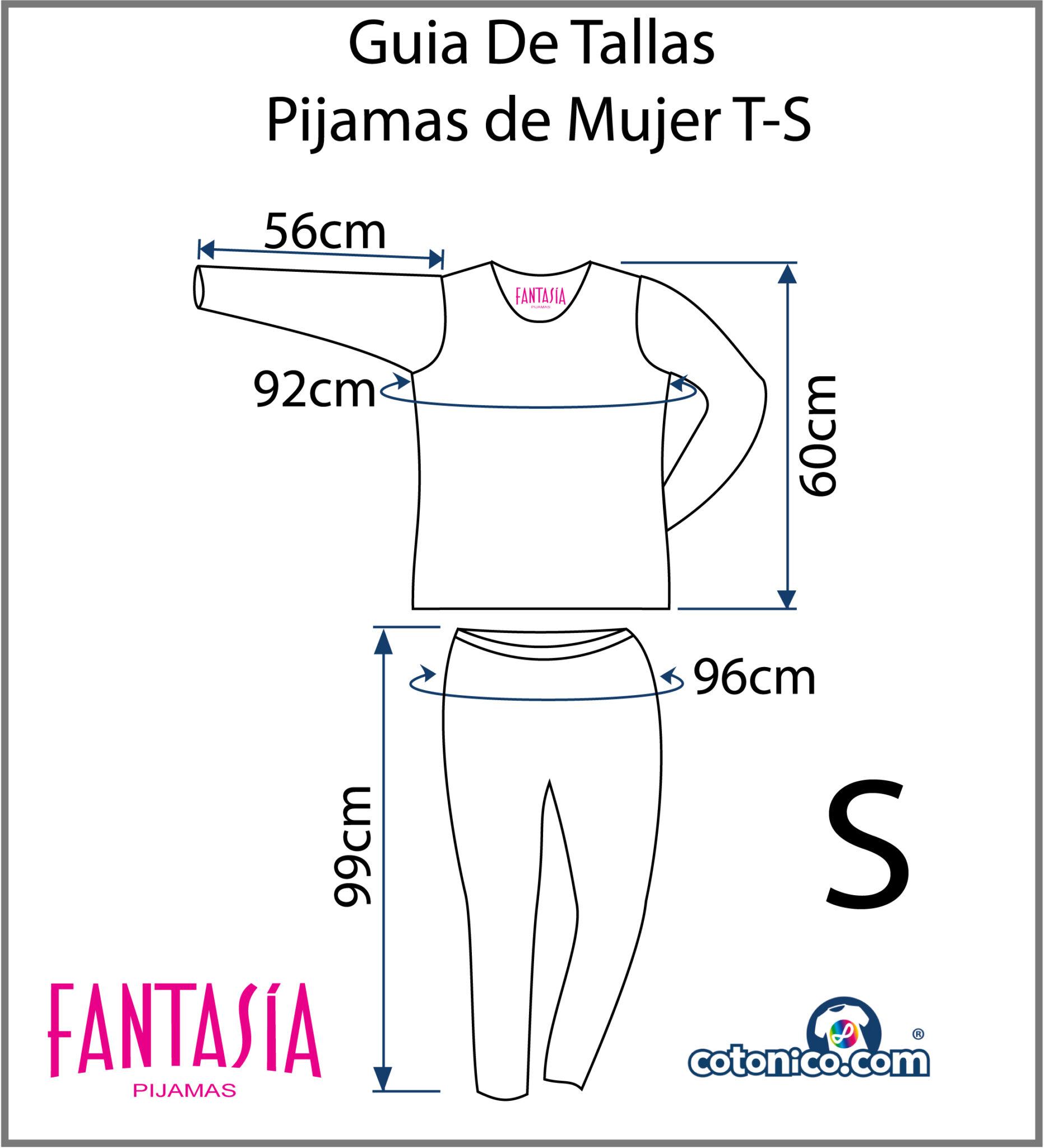 Guia-De-Tallas-Pijamas-De-Mujer-S