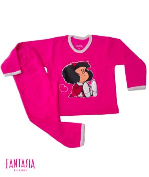 Pijama Mujer o Niña Pantalón Largo Manga Larga Ref:MF1003
