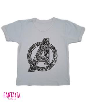 Camiseta Para Hombre o Niño Manga Corta Ref:AV9002