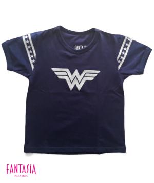 Camiseta Para Mujer o Niña Manga Corta Ref:WW1502