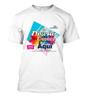 Camiseta Personalizada con el Diseño que quieras!