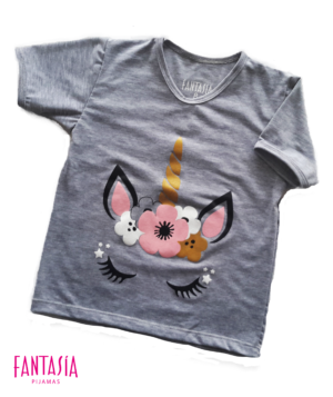 Camiseta Para Mujer o Niña Manga Corta Ref:UN1403